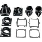 Moose Racing - 1175-BLK - Intake Manifold, Stock Carb Size