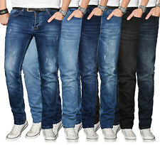 A. Salvarini Designer Herren Jeans Hose Regular Slim Fit Jeanshose Basic Stretch