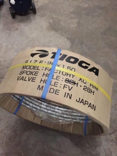 "TIOGA WHEEL JAPAN NEW 28 HOLE DOWNHILL RIMS MTB BIKE BICYCLE 26/"" LOT OF 10"