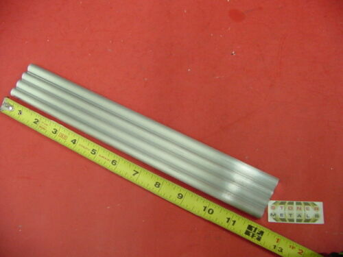 "4 Pieces of 7//16/"" 6061 T651 ALUMINUM SOLID ROUND 12/"" long Cut New .44/"" OD"