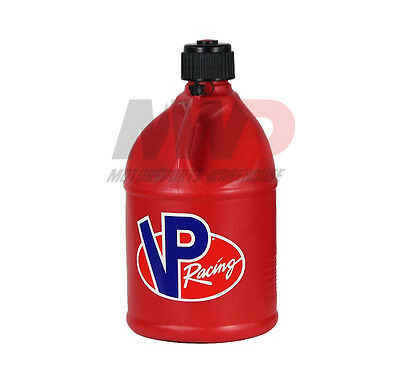 VP Racing Red 5 Gallon Round Fuel Jug/Utility Water Container/Jerry Gas Can