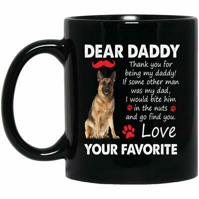 Daddy German Shepherd Coffee Mug - Dog