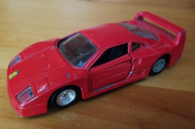 Red Ferrari F40 Diecast Toy Car 1:39 Scale (MC Toy) | eBay