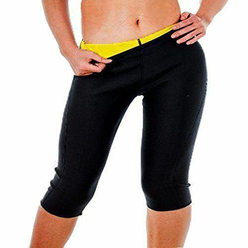 Thermo Sweat Hot Neoprene Body Shaper Pants Slimming Waist Trainer Yoga