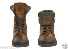 Palladium Men's Baggy Leather Boots Sunrise/Chocolate Brown Size US 12M NIB