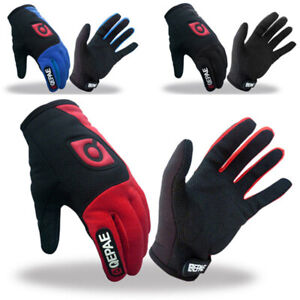 Winter-Outdoor-Sports-Cycling-Bike-Bicycle-Full-Finger-Mesh-Silicone-Gloves-M-XL