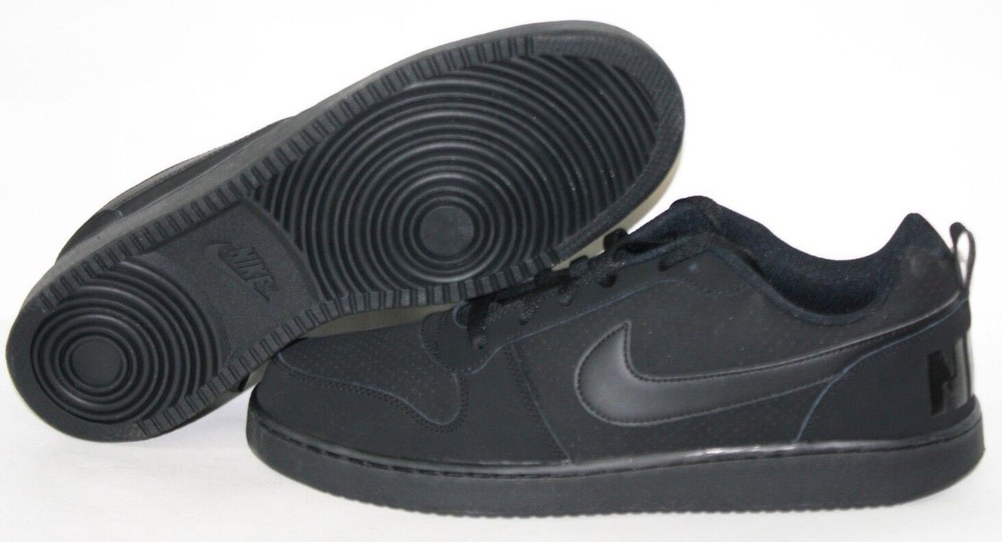 NEW Mens NIKE Court Bgoldugh Low Low Low 838937 001 Black Classic Sneakers shoes 087c6f