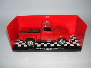 NewRay 1952 DODGE RAM PICK-UP TRUCK RED, 1:3 2 Model Railway 1 Gauge Truck