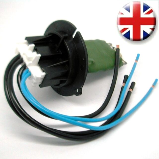 citroen c3 wiring harness connector loom pigtail and 6450jp heater fan  resistor for sale online | ebay
