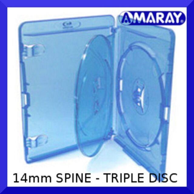 NEW Holds 3 discs Triple 1 VIVA ELITE Blu-ray 3-Disc Case