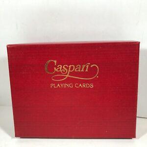 Vintage CASPARI Double Deck Tulip Playing Cards