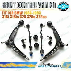 for-BMW-E30-318i-318is-325-Front-Lower-Stabilizer-Link-Control-Arms-Kit