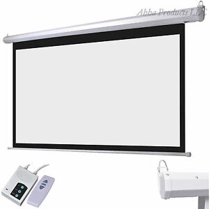 92 motorized electric lift home theater classroom for Motorized home theater screen
