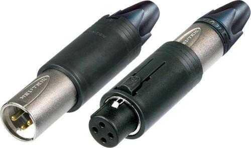 Neutrik NC3FM-C Unisex 3-Pin Female /& Male Convertible Cable Connector