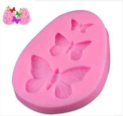 Fondant Lace Mold Sugar Craft Mould Butterfly Cake Decorating Tool ey Silicone