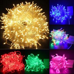 500LED-Outdoor-Fairy-String-Lights-Christmas-Tree-Waterproof-Wedding-Mall-Decor