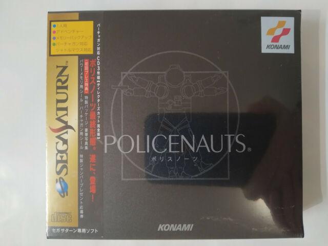 Sega Saturn Policenauts Brand New Sealed With Spine Card Hideo Kojima Game NTSCJ