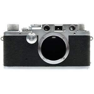 Leica-IIIf-Rangefinder-Film-Camera-Body-Black-Dial