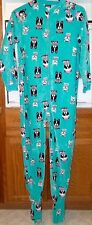 NWT Joe Boxer Dog Lover Footed Pajamas Sleeper S 6 6x 1PC Paw Puppy LAST ONE