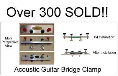 """6/"""" Deep Throat Aluminum C-Clamp Guitar Bridge Luthiers Instrument Repair New"""