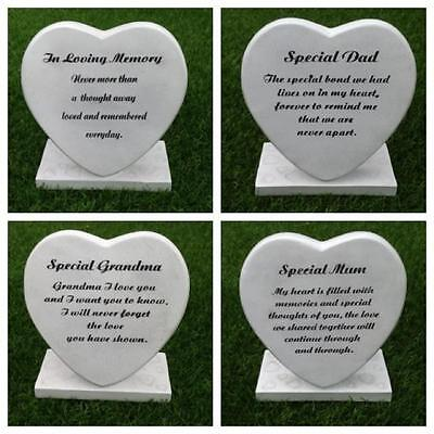 Funeral Graveside Grave Memorial Heart Stand VARIETY
