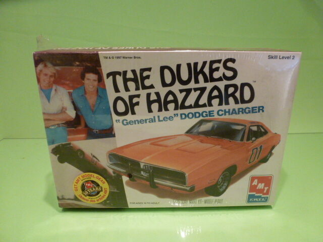 ERTL KIT 8597 DODGE CHARGER GENERAL LEE DAISY DUKE  - Orange 1 25 - NMIB SEALED