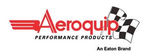 Aeroquip 5075 -12AN x -12AN - Bulkhead Union - Black Anodized