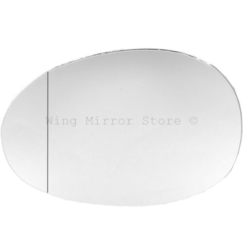 Left Passenger Side WIDE ANGLE WING DOOR MIRROR GLASS For Toyota Aygo 2005-2013