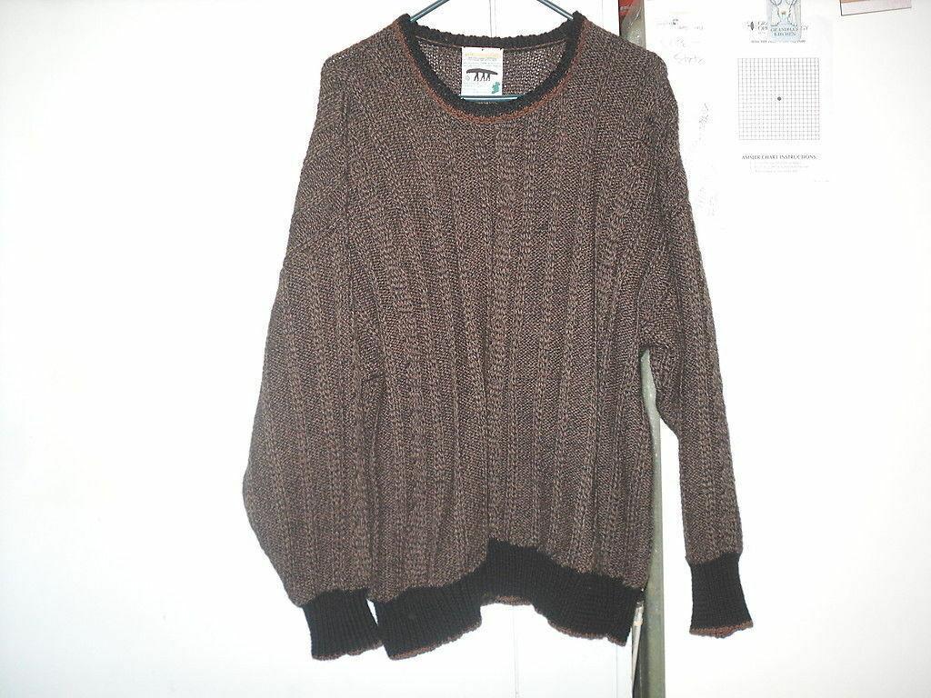 Inis Meain Fishermans Sweater M Medium 100% Wool … - image 2