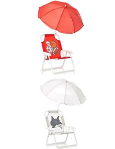 Terrific Details About Kids Red Sports Gray Shark Beach Chair Umbrella Weather Proof Indoor Outdoor New Customarchery Wood Chair Design Ideas Customarcherynet