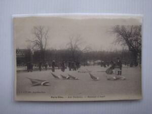 CPA-carte-postale-Paris-Vecu-Aux-tuileries-Bateaux-de-bassin-a-louer-Borda-Nova
