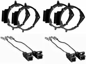 silverado wiring harness ebay 4 car truck front   rear door speaker mounting adapter brackets w  rear door speaker mounting adapter
