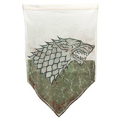 Game of Thrones Stark 27 x 45 in Battle Worn Banner