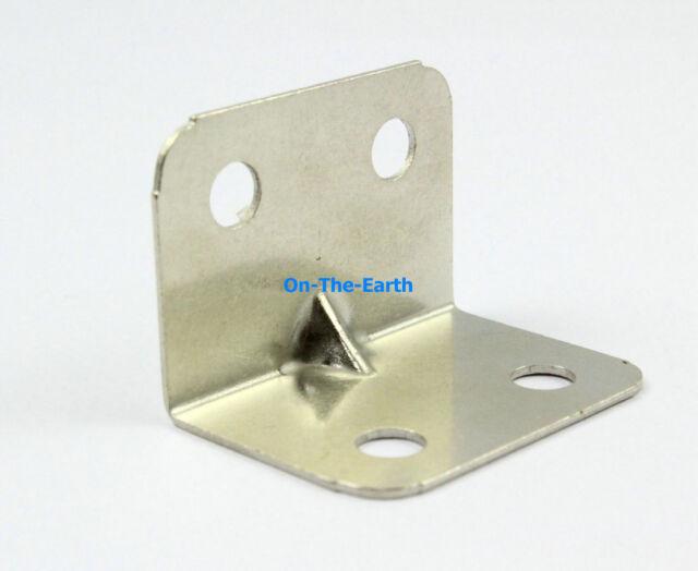 """40 Pieces Galvanized Right Angle Corner Brace Corner Bracket 15/16"""""""