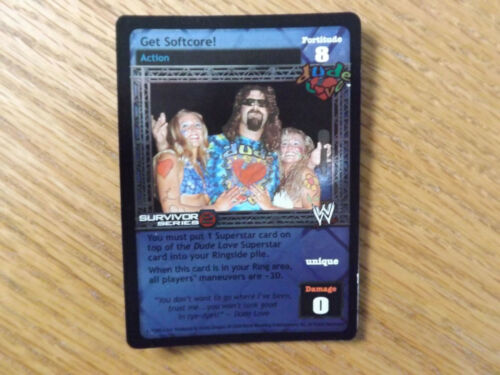 FOIL Get Softcore! WWE Raw Deal Dude Love
