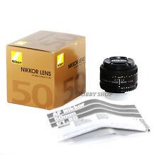 Objetivo Nikon AF 50mm f/1.8D nikkor 50 mm 1.8 f1.8 D + Nikon warranty