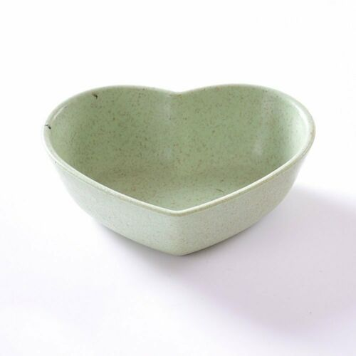 Soy Sauce Dish Cute Love Heart Bowl Plate Appetizer Plates Baby Kids Dish Bowl