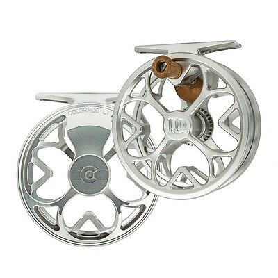 BACKING NEW ROSS COLORADO LT 0//3 CLICK DRAG FLY REEL MATTE BLACK FREE $60 LINE