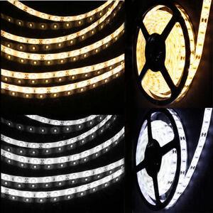 LED-Strip-Streifen-Band-SMD-5630-2835-Lichtleiste-60-120Leds-m-Kaltweiss-Warmweiss