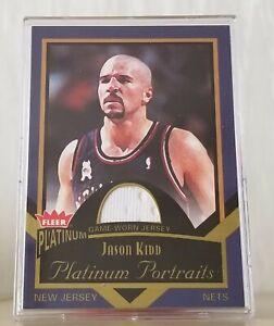 Jason KIDD Fleer Platinum Jersey 2002-03 New Jersey Nets/ Mint +