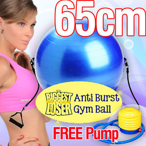 The-Biggest-Loser-Gym-Ball-Fitness-Ball-Yoga-Ball-65cm-with-Resistance-Straps