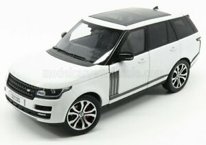 LCD-MODEL 1/18 LAND ROVER | RANGE ROVER SV AUTOBIOGRAPHY DYNAMIC 2017 | WHITE
