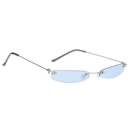 Modedesigner Sonnenbrille Retro kleine Plastikweinlese Schatten Frauen