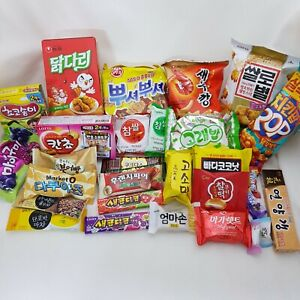 Korean-30pcs-Snack-Box-Chips-Pies-Jellies-Candies-Tea-Exotic-Snacks-K-food
