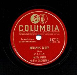 HARRY JAMES 1944 Columbia 36713 - Memphis Blues / Sleepy Time Gal
