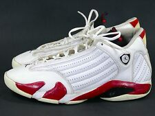Jordan XIV Sz 13 White/Red - air retro 2005 candy cane 14 xv xiii xii xi bulls