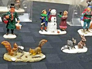 Lemax Village Collection Figures Papa's Lesson & more