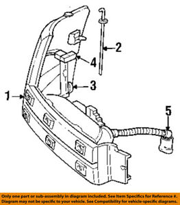dodge grand caravan wiring harness diagram chrysler oem side marker light front wire harness 4481093 ebay  chrysler oem side marker light front