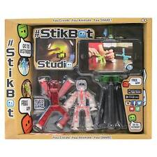 Zing #Stikbot Studio Rare [Exclusive Red Figure] With Green Tripod New!