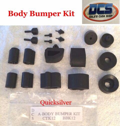 "1967 Plymouth Barracuda /""A/"" body Body Bumper Kit New MoPar"
